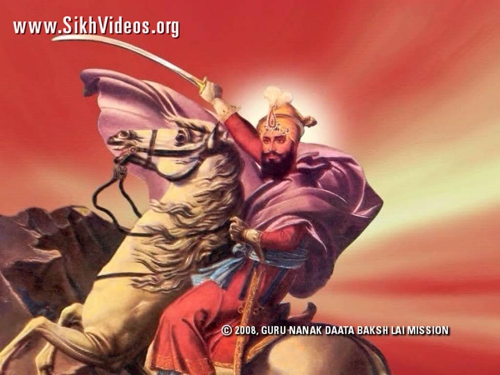 Guru Gobind Singh ji 3d Wallpapers Guru Gobind Singh ji on a