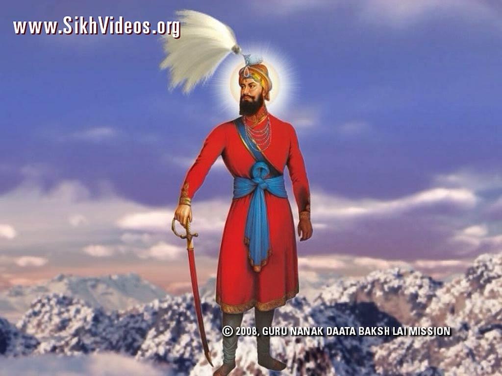 Guru Gobind Singh ji 3d Wallpapers Guru Gobind Singh ji on Snowy