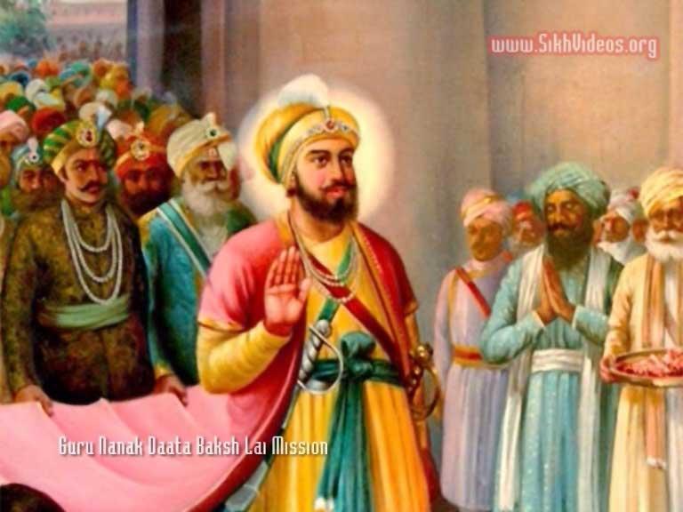 Guru Hargobind Sahib and Baba Sri Chand Ji